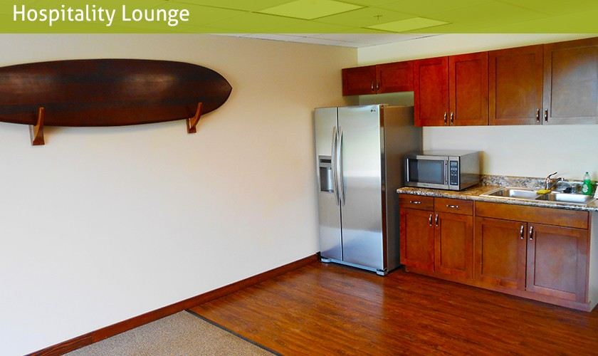 hospitality lounge kitchen