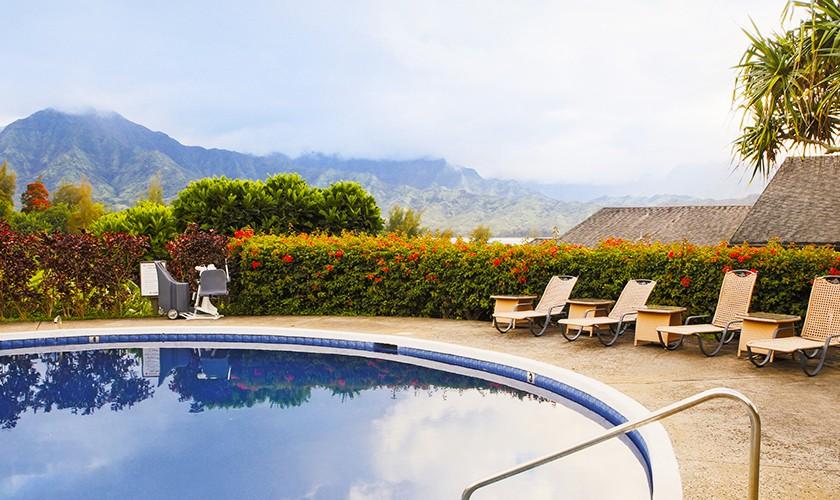 hanalei bay resort pool