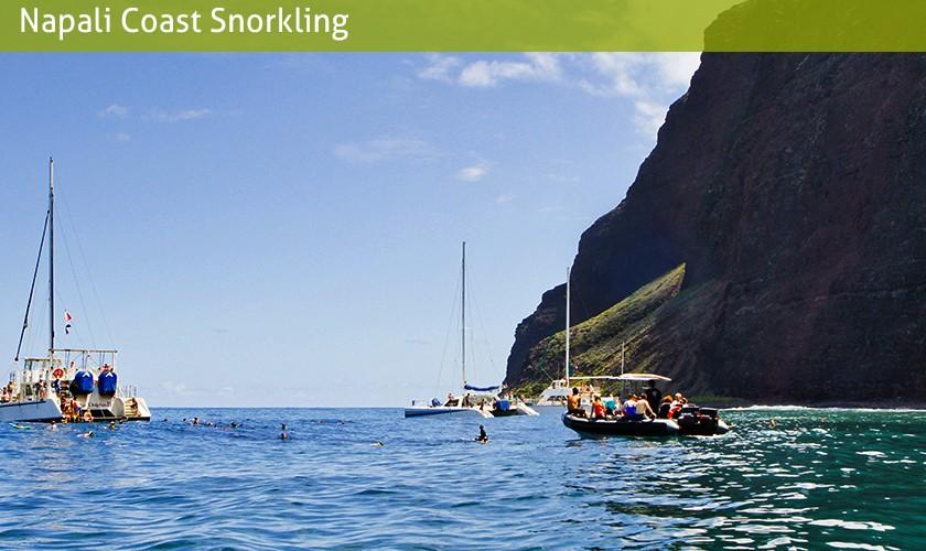napali coast snorkling