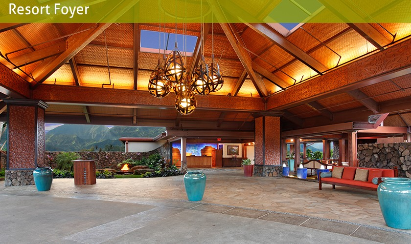 resort foyer