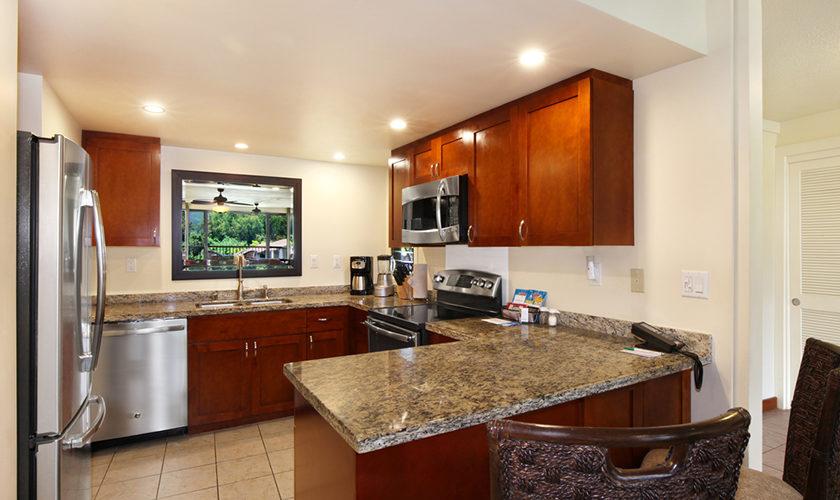 Hanalei Bay Resort 2BR Living Room